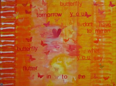 heARTsongpainting Butterfly