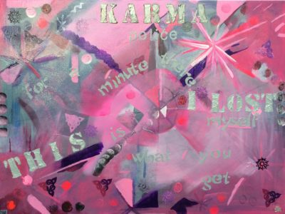 heARTsongpainting Karma I Lost This