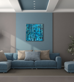 waterfall wall in home 1080