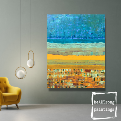 Layer Landscape in interior 4 heARTsongpaintings
