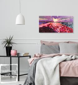 Rose Sunset in house heARTsongpaintings 5kl